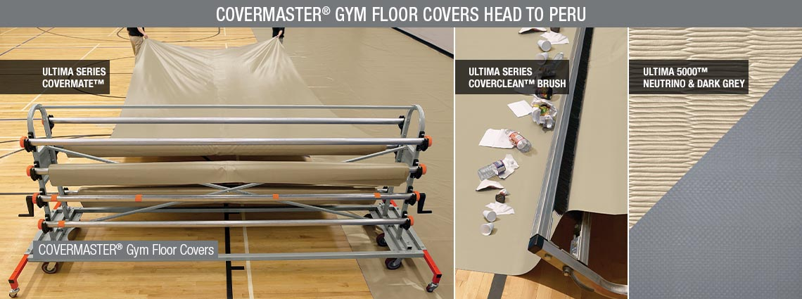 Covermaster Gym Floor Covers Head to Peru