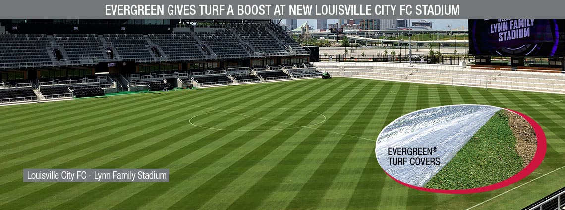 Evergreen Gives Turf a Boost at New Louisville City Fc Stadium