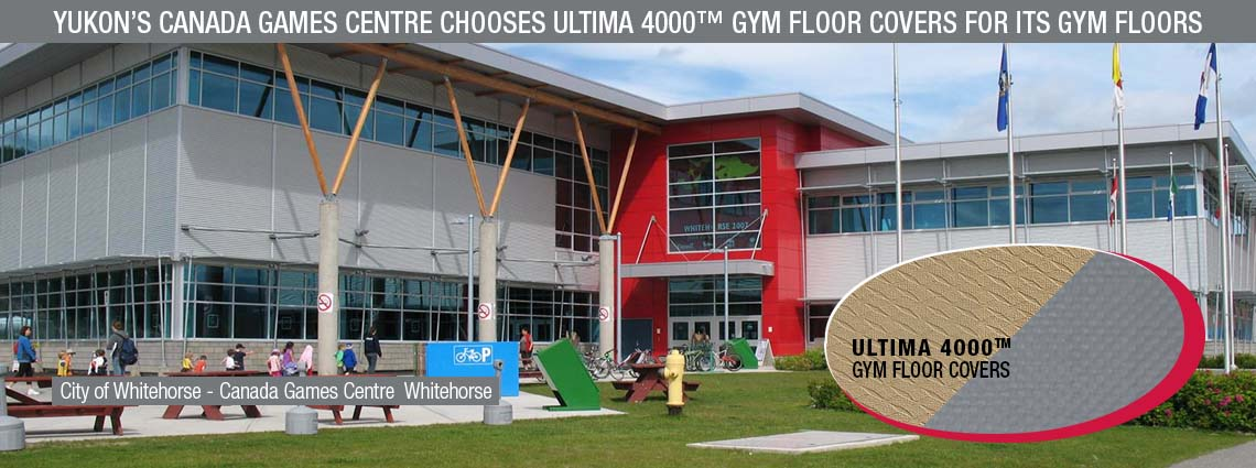 Yukon's Canada Games Centre Chooses ULTIMA 4000™ for Its Gym Floors