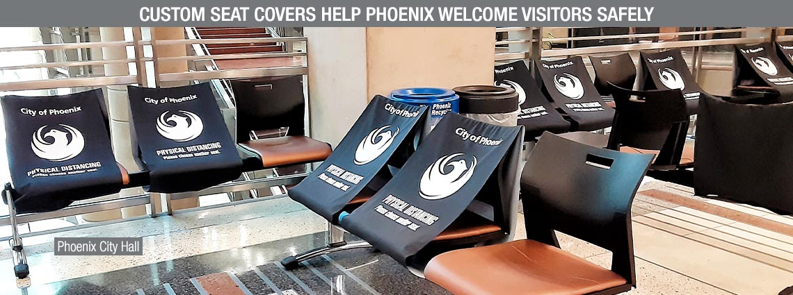 Custom Seat Covers Help Phoenix Welcome Visitors Safely