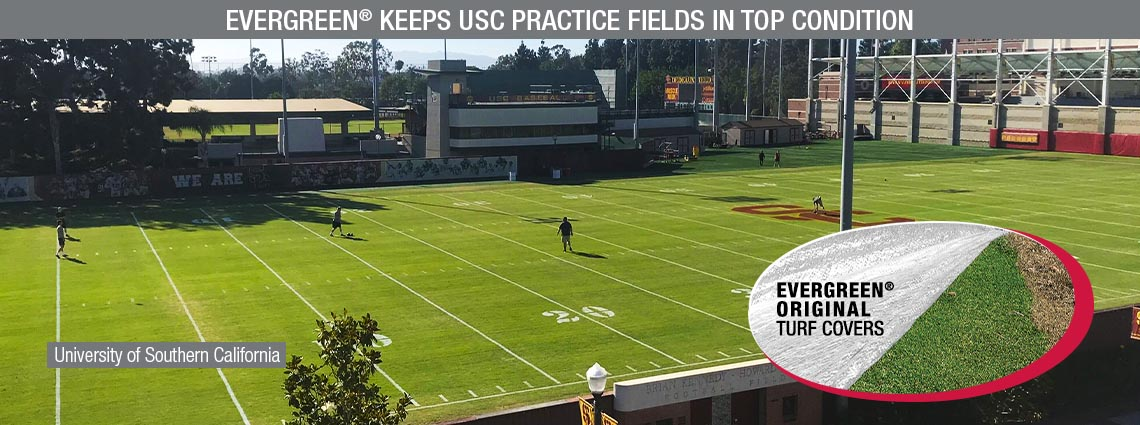 EVERGREEN-Keeps-USC-Practice-Fields-in-Top-Condition