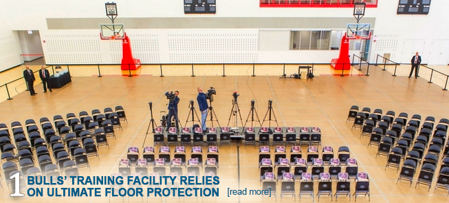 Bulls' Training Facility Relies on Ultimate Floor Protection