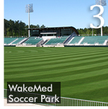 EVERGREEN RADIANT PLAYS KEY ROLE IN WAKEMED TURF MANAGEMENT