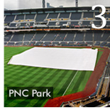 QUICK TURNAROUND FOR NEW PNC PARK FIELD TARP