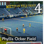 FIELDS TARPS PART OF CHAMPIONSHIP GAME PREP AT UNIVERSITY OF MICHIGAN