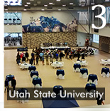 UTAH STATE OPENS NEW REC CENTER WITH COVERMASTER