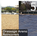 COVERMASTER DRESSAGE ARENA RAINCOVERS KEEP TRAINING ON PACE