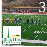 Black Hills State Chooses Raincover 600 For Field Protection