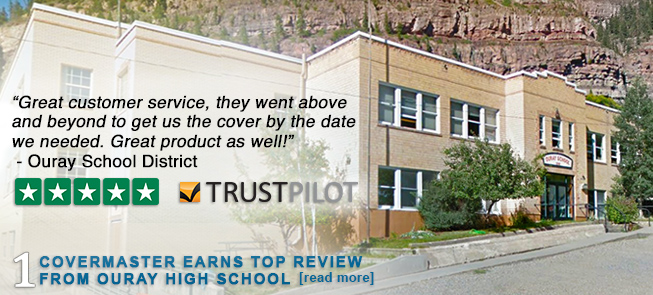 Covermaster Earns Top Review from Ouray High School