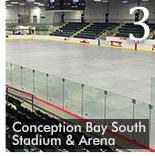 Ice Covers Turn New Arena Into Multi-purpose Venue