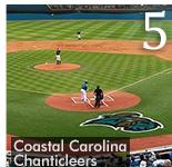 Congratulations to NCAA Champions Coastal Carolina Chanticleers