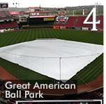 Raincover Plus Keeping Cincinnati Turf Cool and Dry