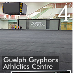 Platinum EasyRoll Gym Carpet Turns New University of Guelph Athletics Centre into a Banquet Facility