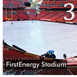 Football Tarp Gets Custom Treatment for the Cleveland Browns