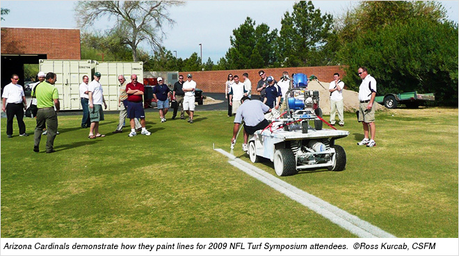 Sports Field Painting Basics: Part 1-In the Shop (JULY 2017) on