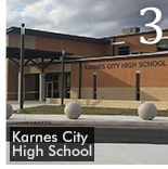 Karnes School Turns Sports Field Into Grad venue with Turf Protection System
