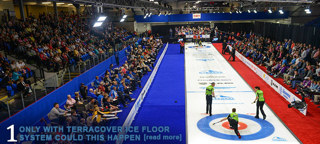 World-Class Curling Event Brings Terracover Ice to Fredericton