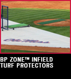 BP Zone Infield Turf Protectors