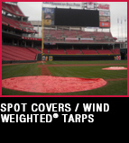 Spot Covers - Wind Weighted Tarps